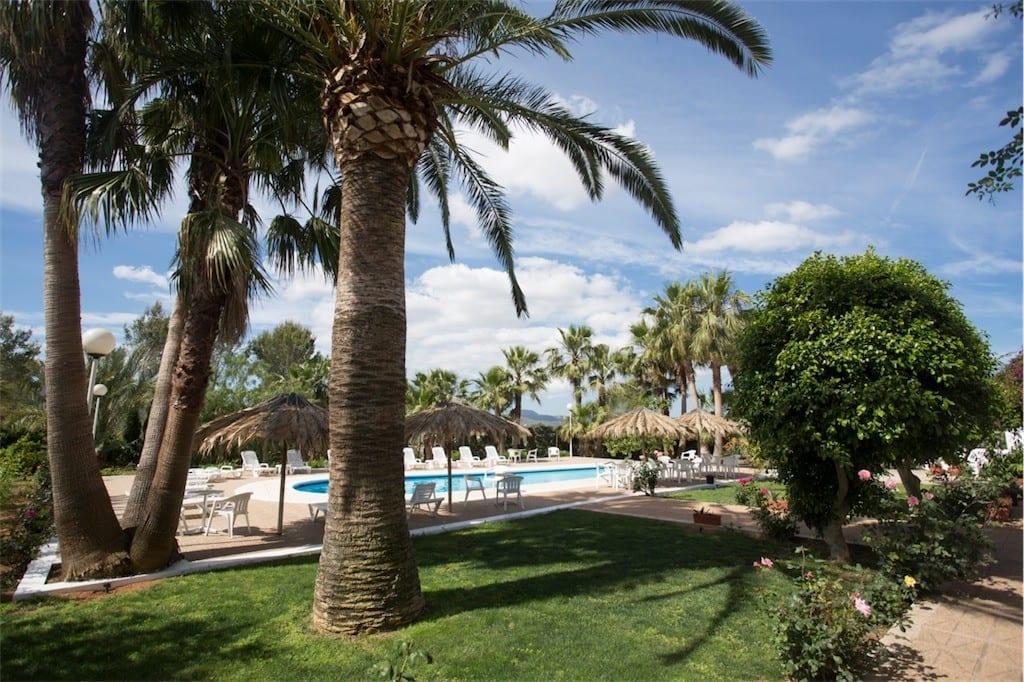 Stunning pool and gardens at Villa Nieves