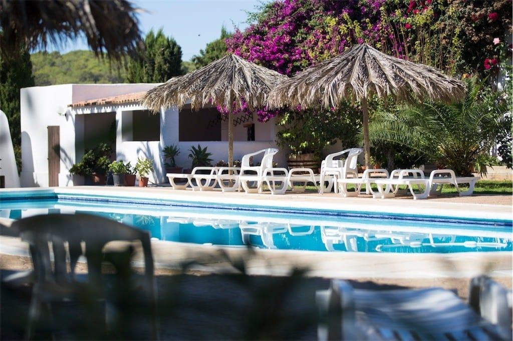 Mood shot of pool at Nieves