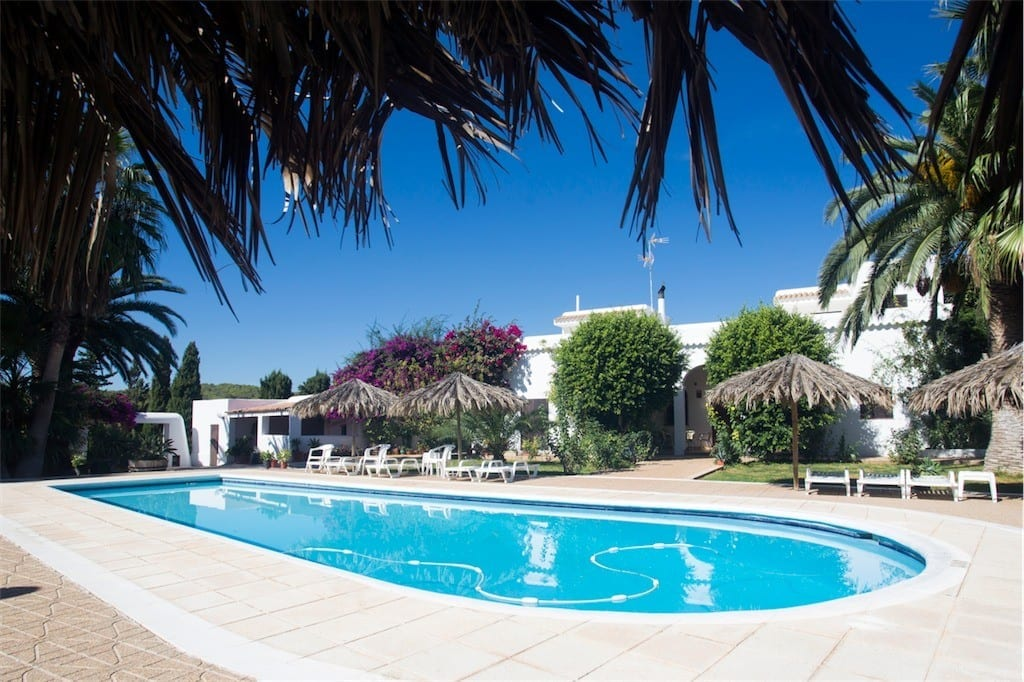 Large Ibiza villa for groups