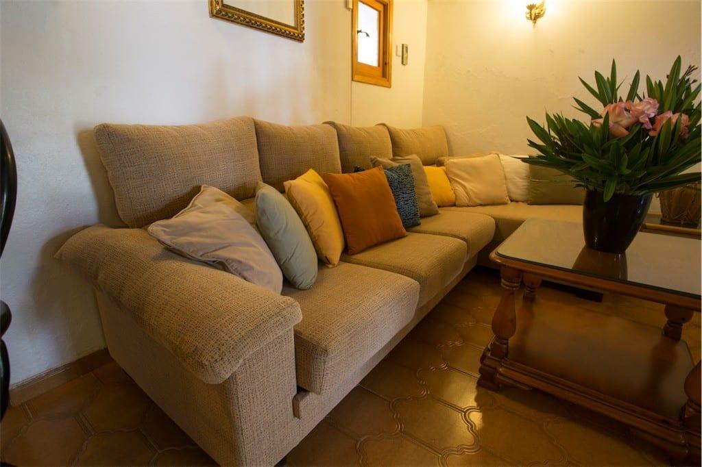 Comfortable seating at Villa Nieves