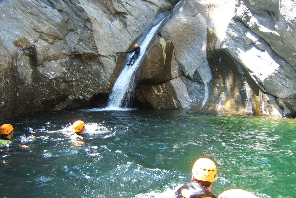 canyoning in chamonix