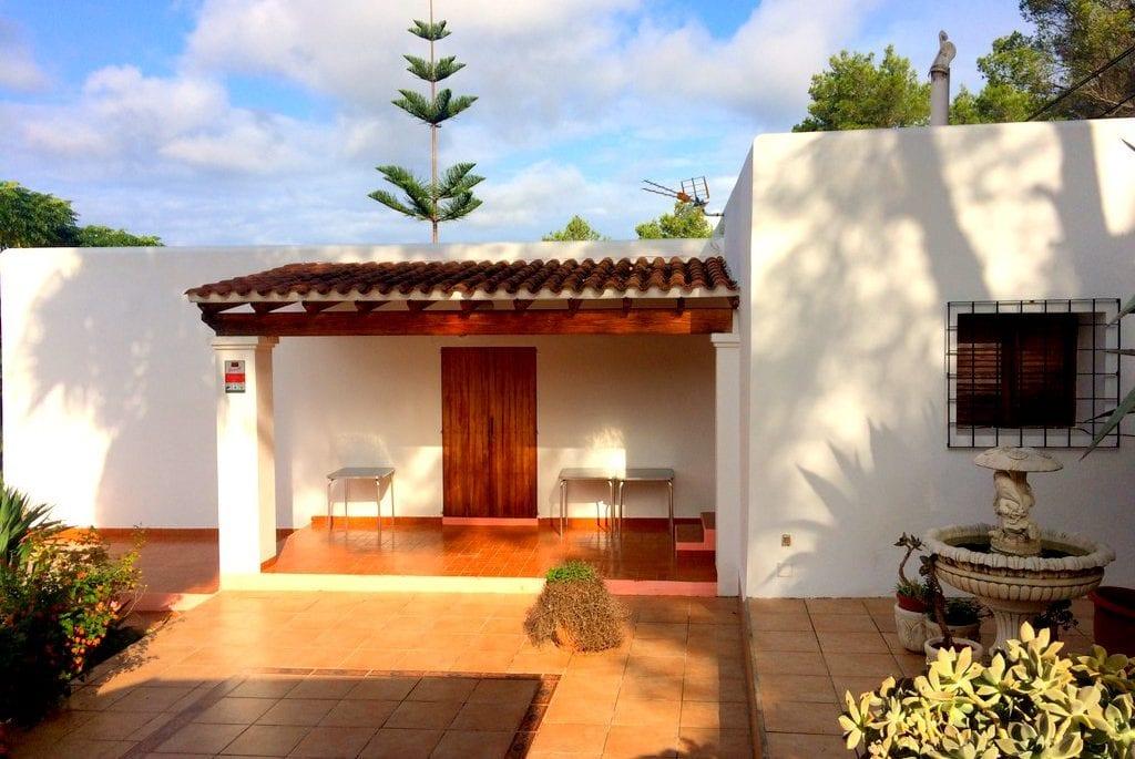 Entrance to the main villa