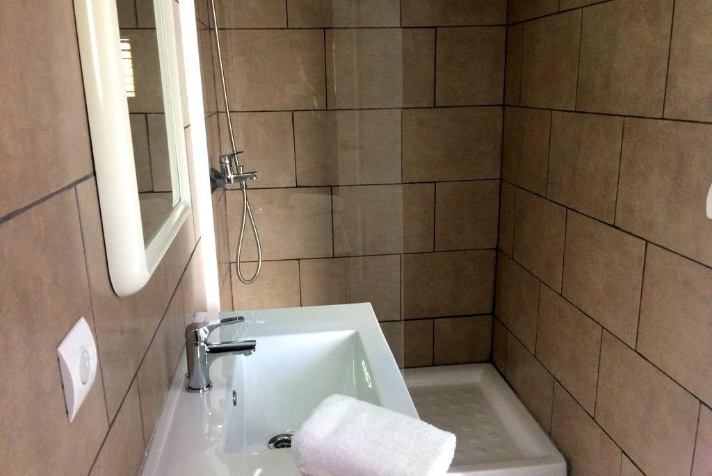 Shower room at Villa Alexa