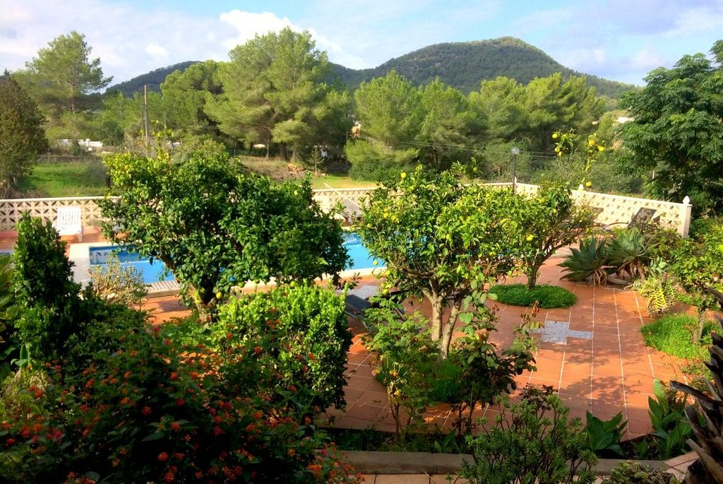 Pool with a view at Villa Alexa