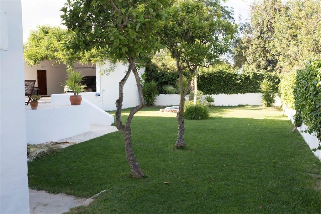 garden at casa carolle ibiza