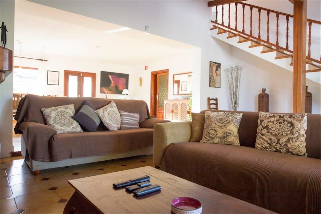 sofas in living room casa carolle ibiza