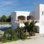 Villa Can Vincent with pool and gardens
