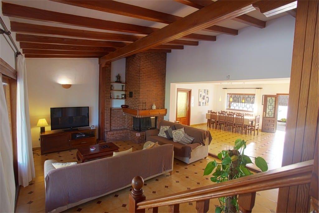 living area at casa carolle ibiza