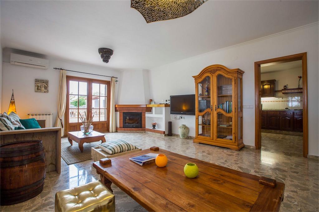 Spacious lounge at Villa Ania.