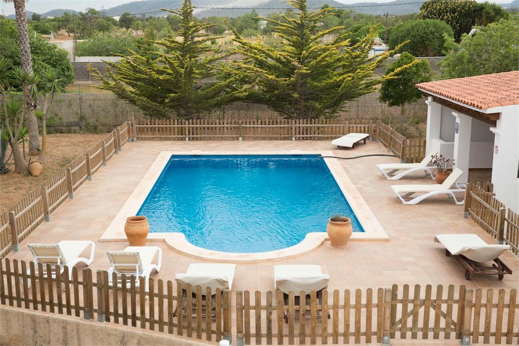 Private pool at Villa Ania