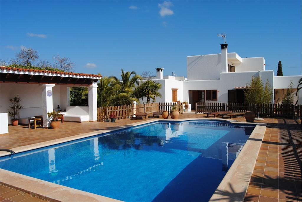 Villa for rent in Ibiza.