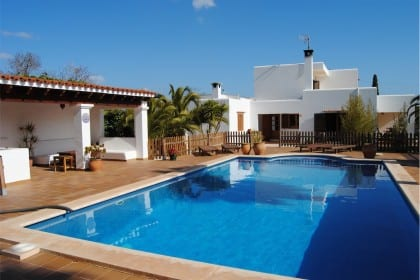 Private villa in Playa den Bossa
