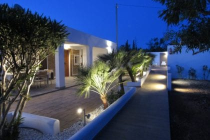 ibiza villa for families