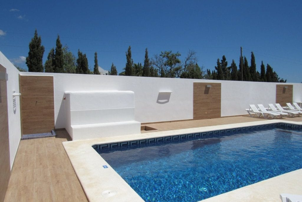 Lovely private pool at Villa Pep Luis