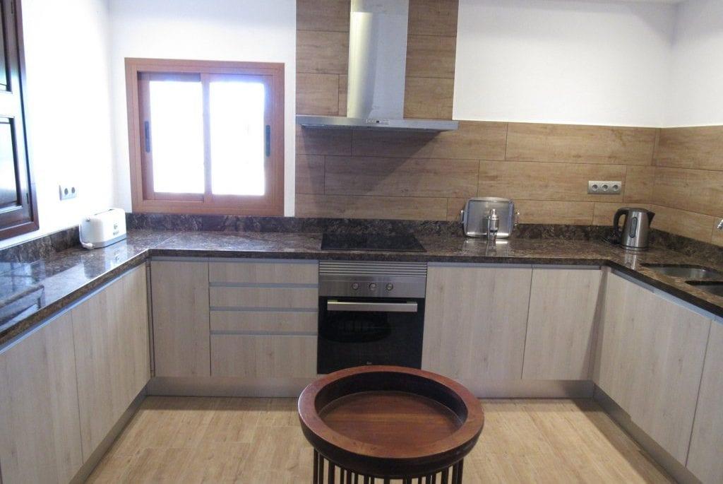 New modern kitchen and apliances