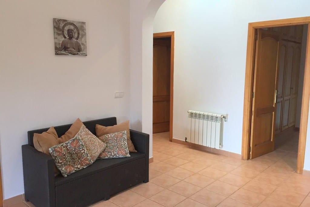 Sofa Bed in lounge at Villa Tinto