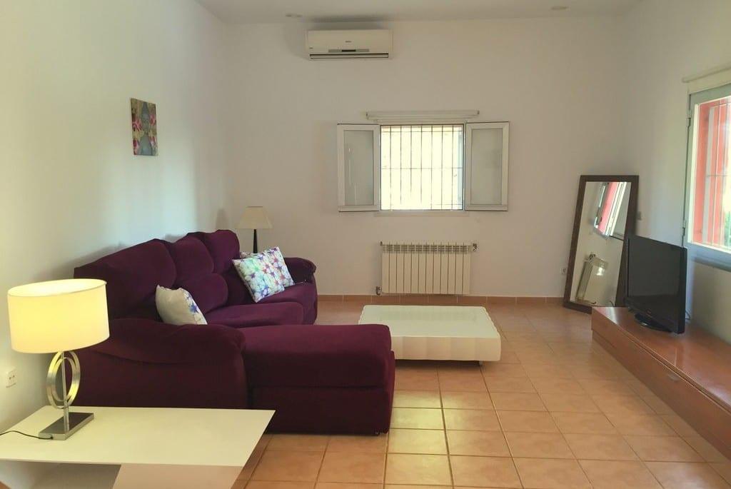 Spacious lounge area at Villa Tinto