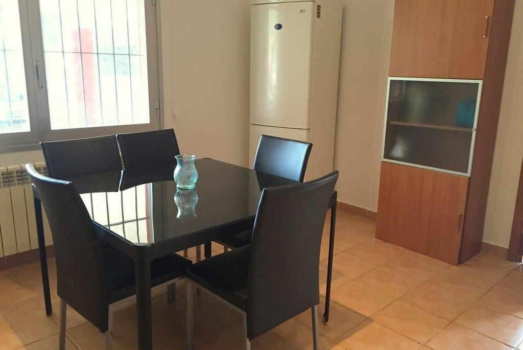 Dining area in Kitchen at Villa Tinto