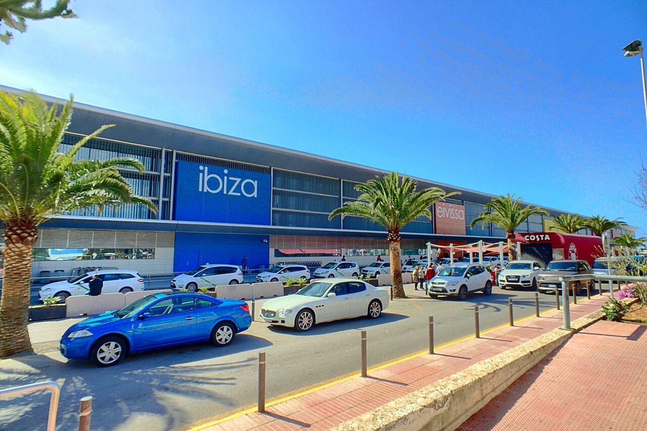 drop off point ibiza airport