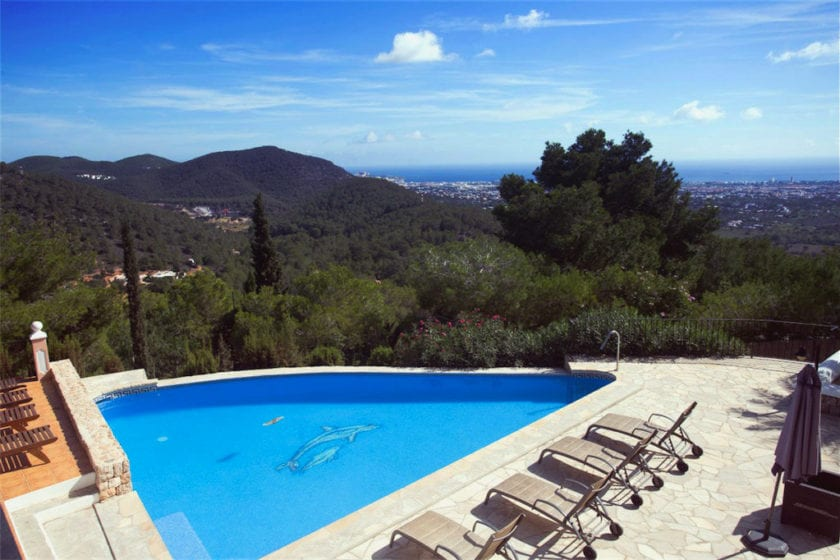 Bella vista Ibiza