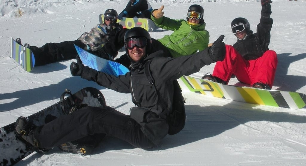 snowboarding morzine