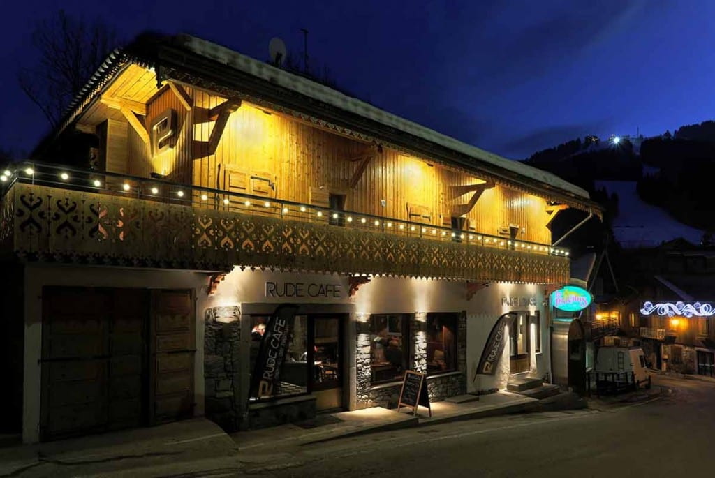 the rude lodge morzine