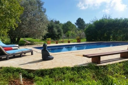 Great value villa rental in Ibiza town