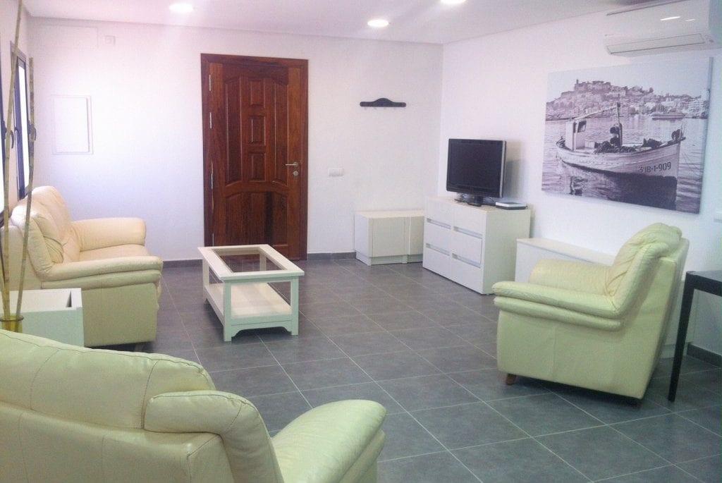 Comfortable seating at Villa Torres