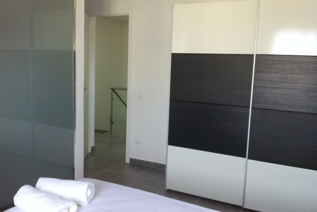 Modern furniture and fittings at Villa Torres