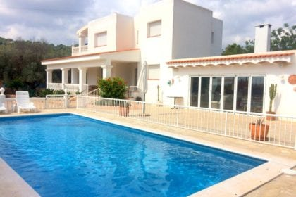 villa near Ibiza town