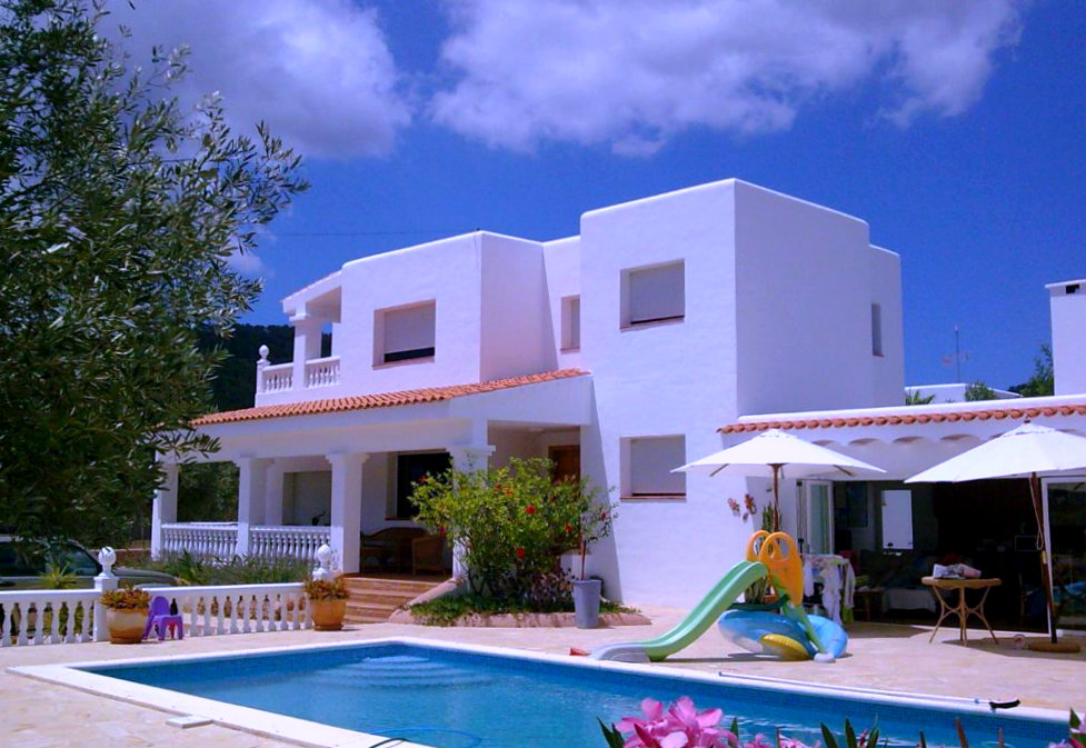 Spacious Villa Rental Ibiza Town Villa David Ibiza