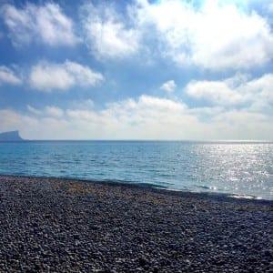 pebbled beach ibiza