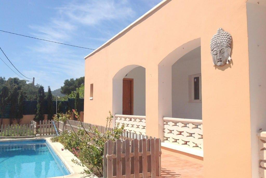 Ibiza villa rental by the sea