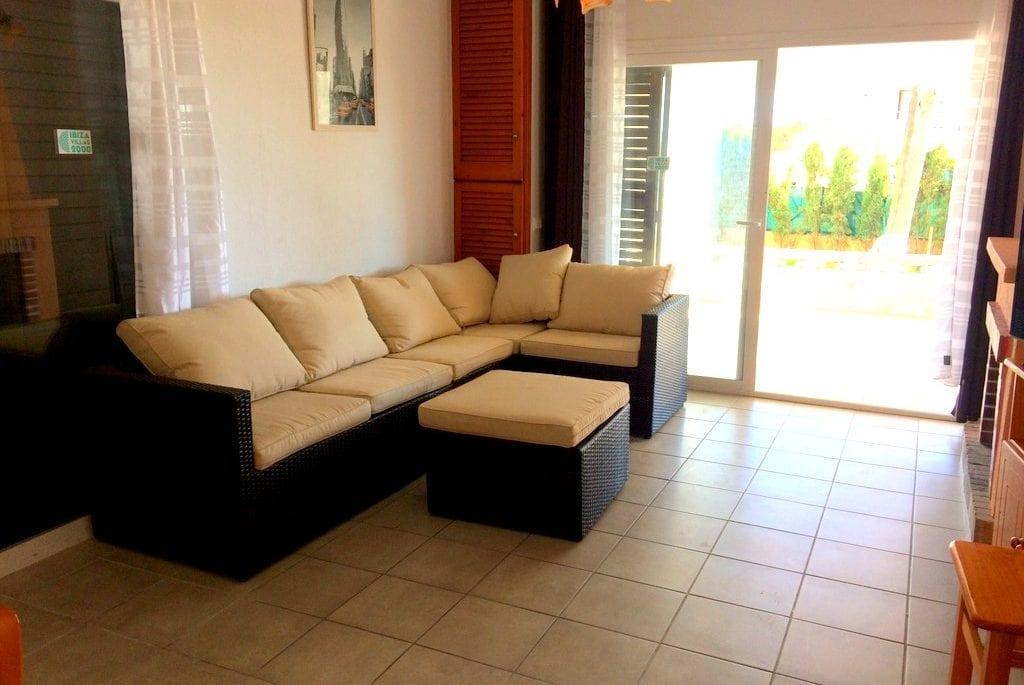 living room at Casa Josie