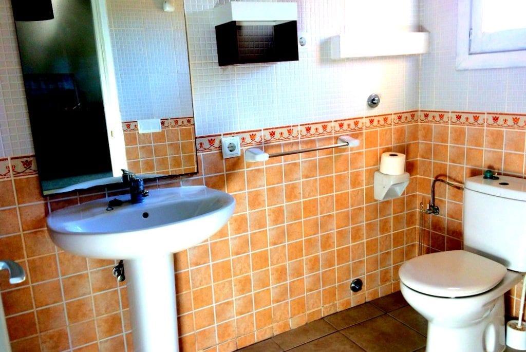 bathroom at Casa Josie