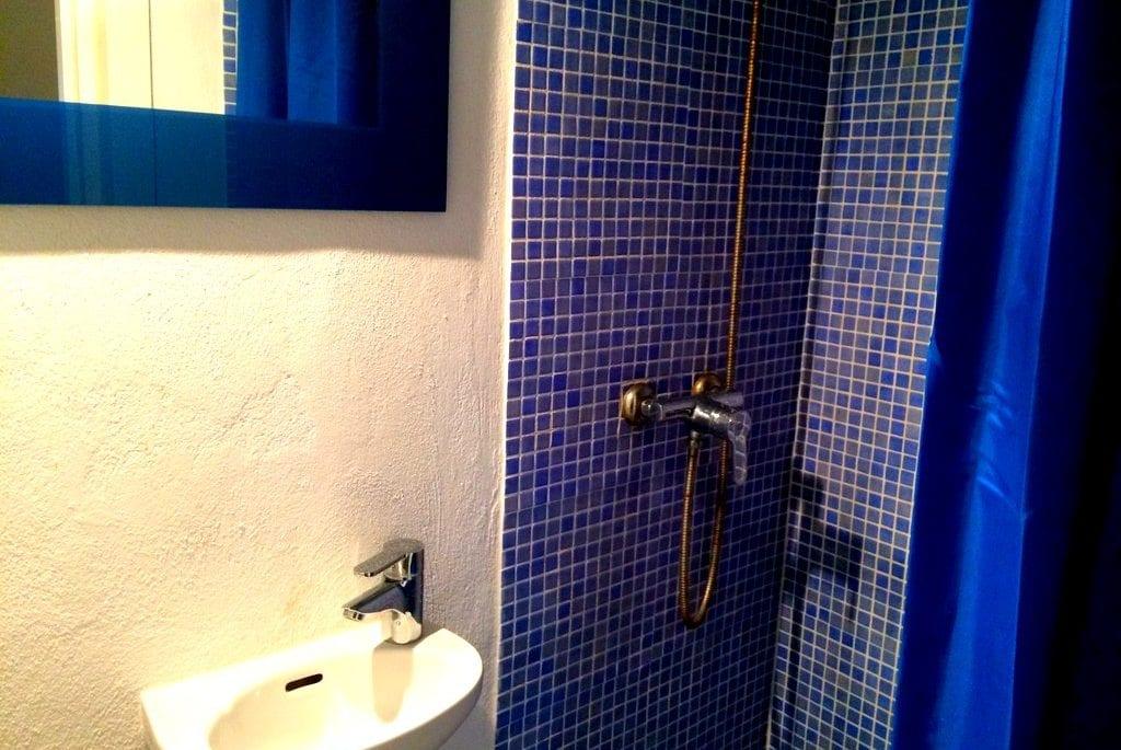 shower at Casa Josie