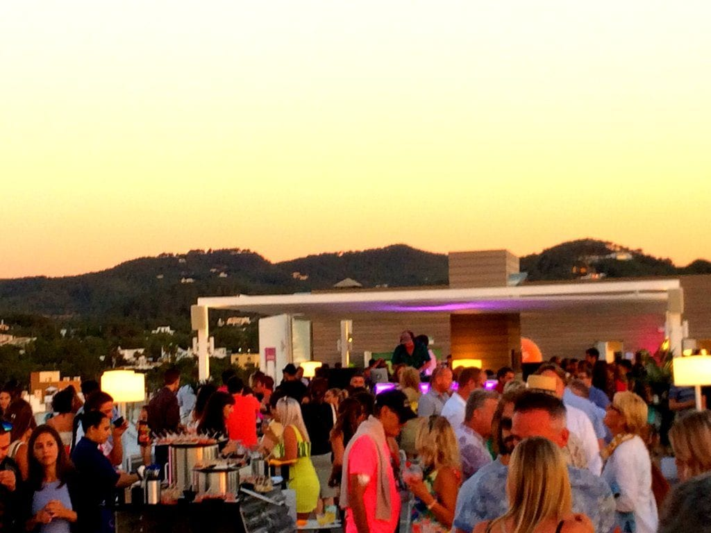 sunset viewpoint in Ibiza