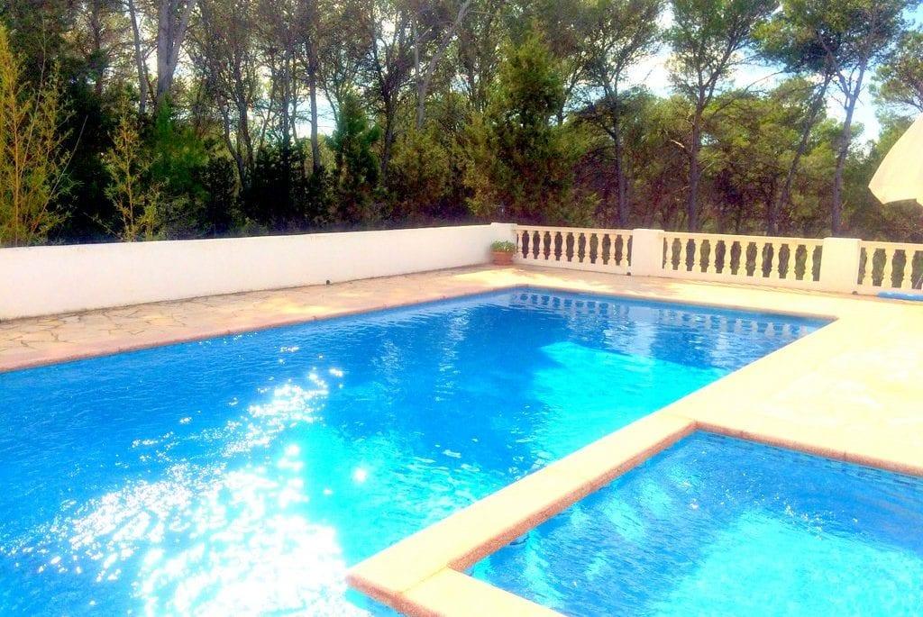 ibiza villa with pool