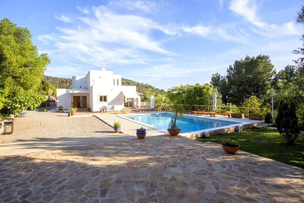 Lovely villa with private pool in Ibiza