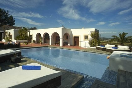luxury villa near ibiza town