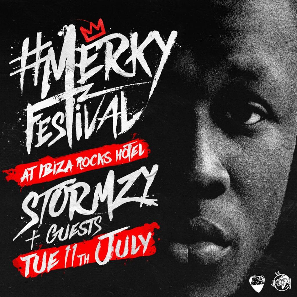 Ibiza rocks Merky