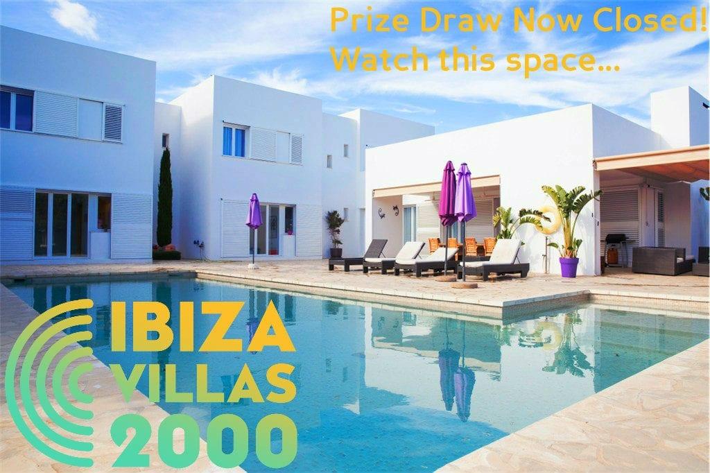 Ibiza villa prize draw