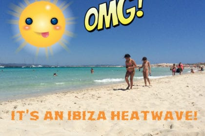 Ibiza weather heatwave
