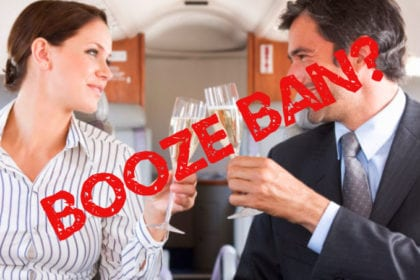 Alcohol ban on Ibiza flights