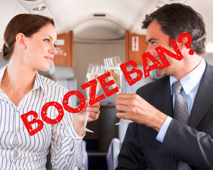 Alcohol ban on Ibiza flights