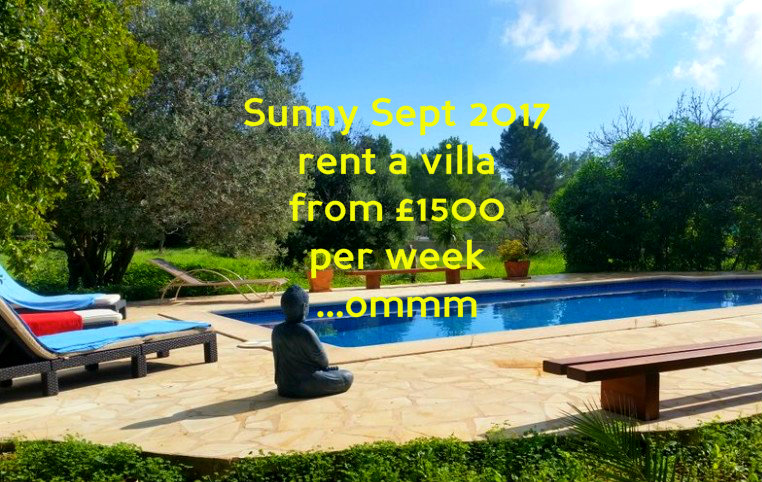 Ibiza villa rental discount week 20