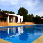 luxury ibiza villa close to San Rafael | villa tegui
