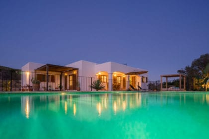 rental villa in Ibiza for families