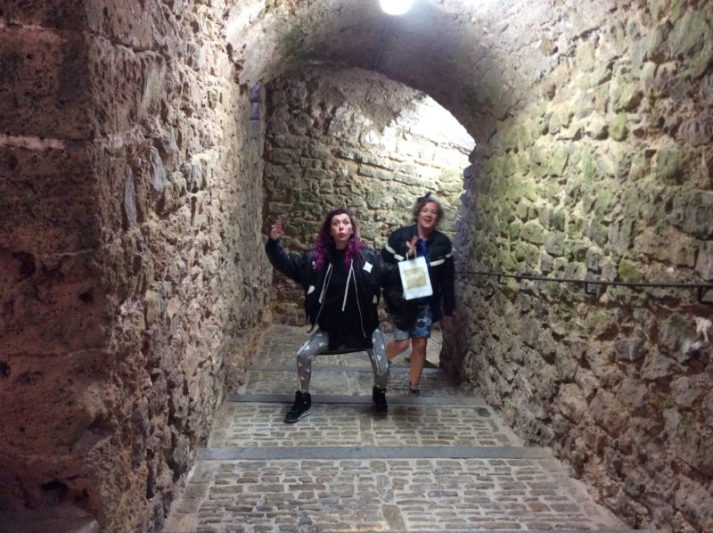 Exploring dalt vila in Ibiza in April