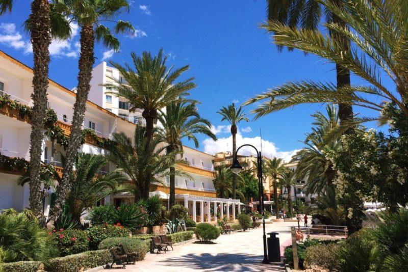 Ibiza in June beaches